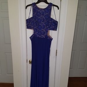 Morgan & co. Royal Blue Party Dress